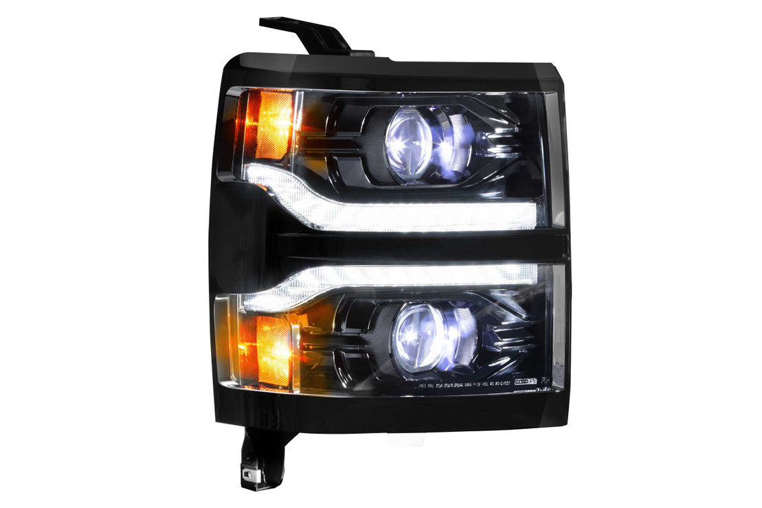 CHEVROLET SILVERADO 1500 (14-15): XB LED HEADLIGHTS