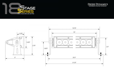 DIODE DYNAMICS: SS12 STAGE SERIES 12""
