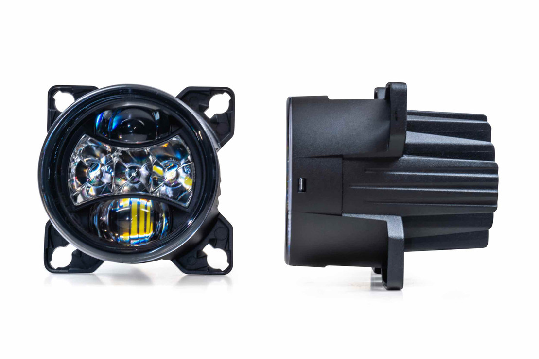 SEALED3: MORIMOTO 90MM LED HEADLIGHT (Single)