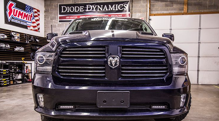 2013-2018 Dodge Ram Sport/Express SAE/DOT LED Lightbar Kit