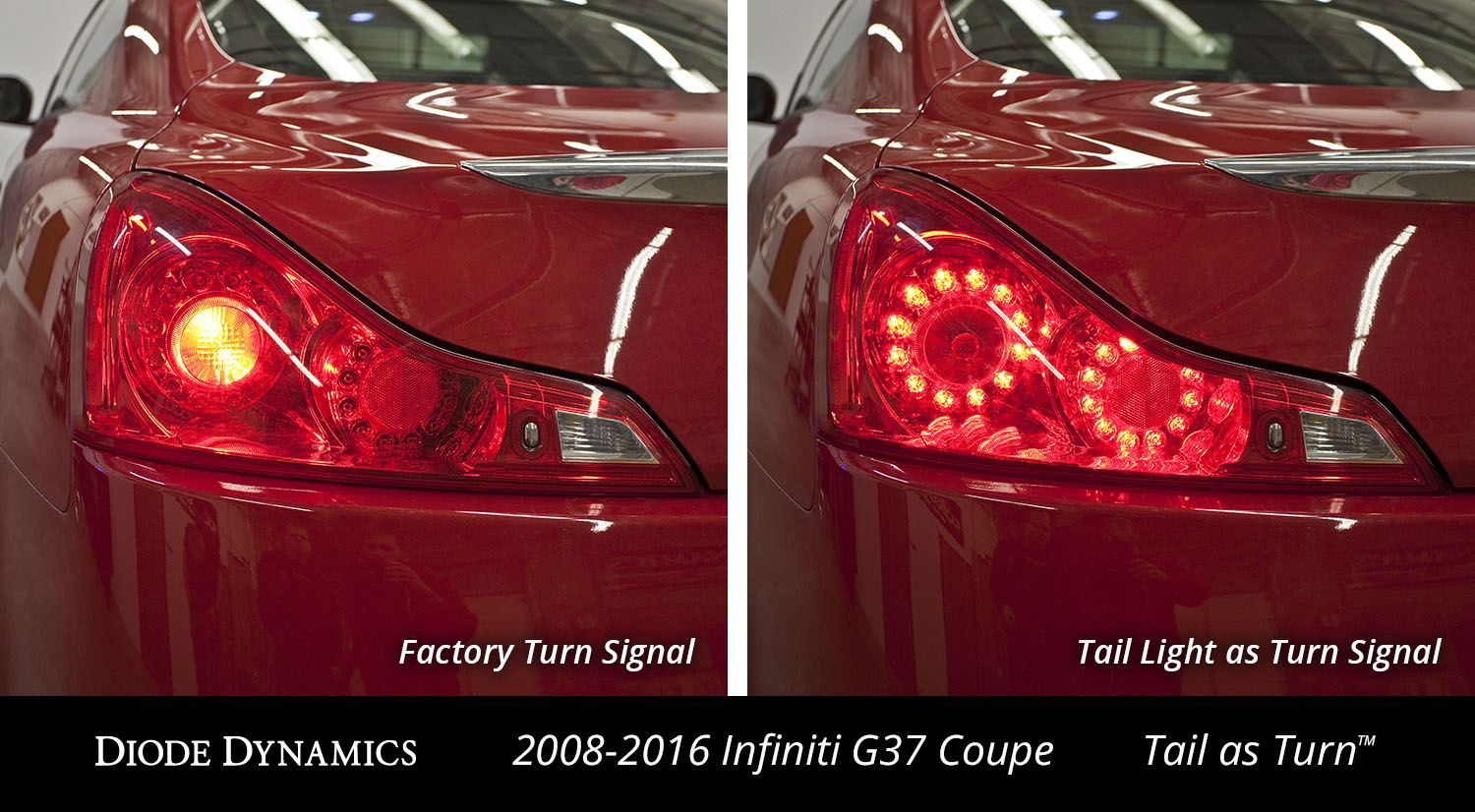 Tail as Turn™ Module for 2008-2013 Infiniti G37 Coupe (USDM) (pair)