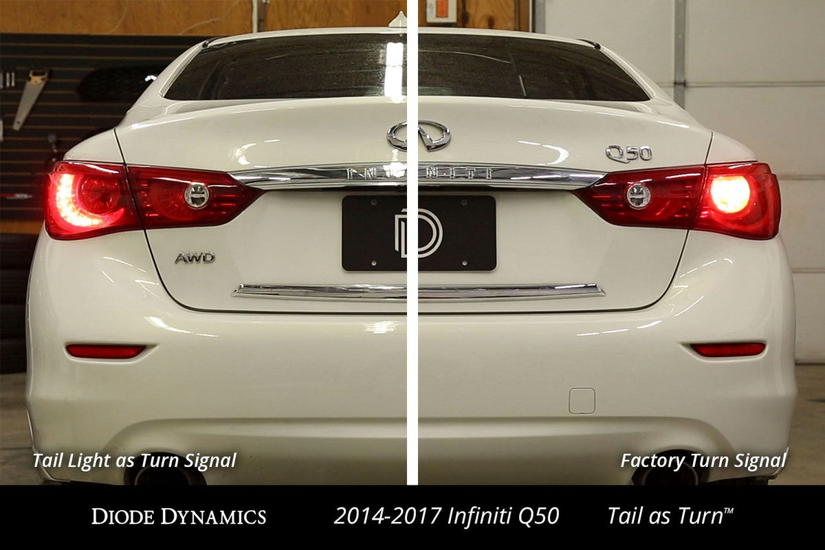 2014-2017 Infiniti Q50 Tail as Turn™ Module (USDM) (pair)