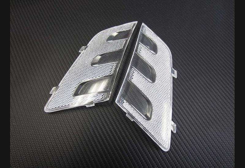 10-18 Dodge Ram clear reflectors (quad style hedlights)