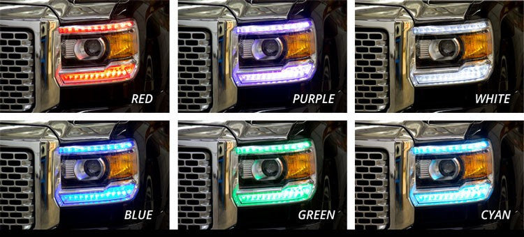 2014-2015 GMC Sierra ColourChanging (RGB) modules