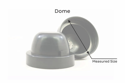RUBBER HOUSING DUST-CAPS (set of 2)