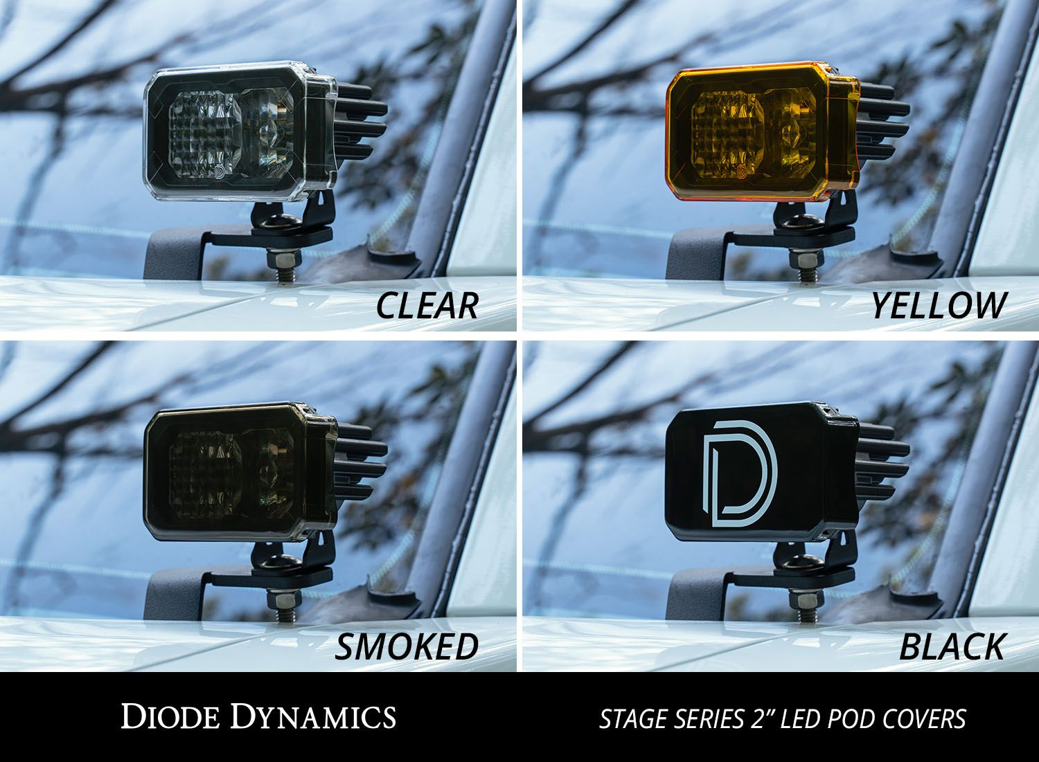 "Stage Series 2"" LED Pod Cover"