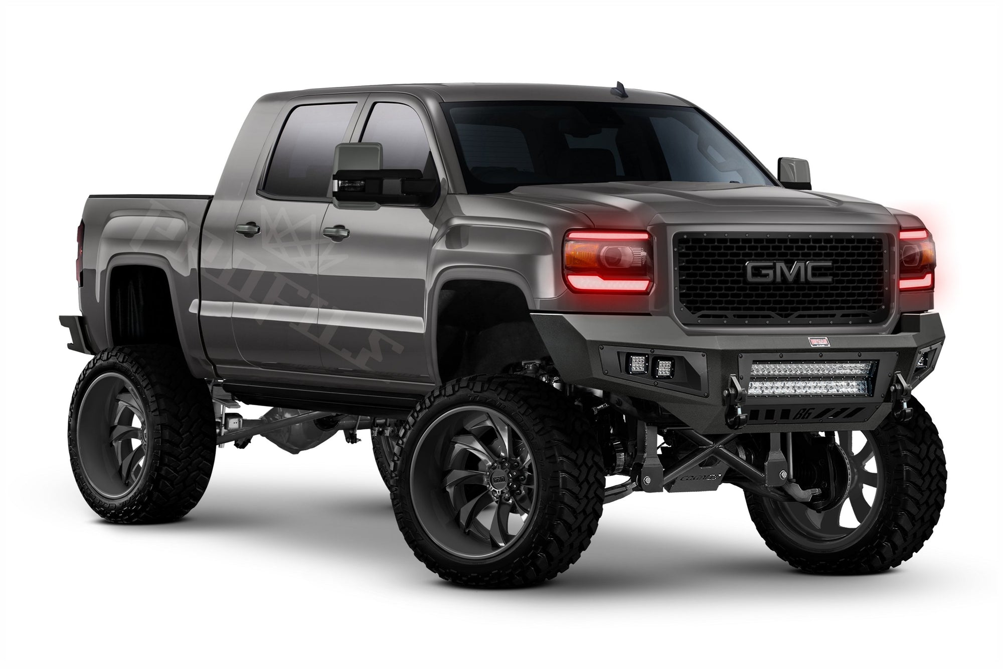 13-18 GMC SIERRA: PROFILE PIXEL DRL BOARDS