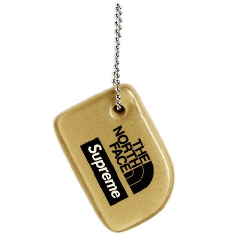 Supreme The North Face Floating Key Chain Gold