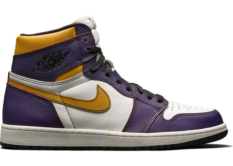 "Air Jordan 1 High OG Defiant ""Lakers"""