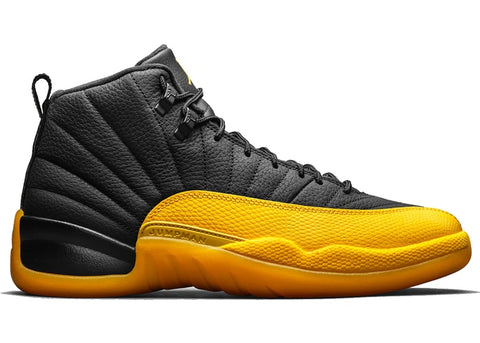 "Air Jordan 12 Retro ""Black/University gold"""