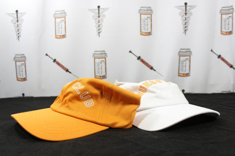 "Guess X A$AP ""Guess Club Hat Pack"" (White/Orange)"