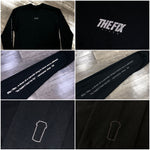 "The Fix ""Definition"" Black/Reflective Long Sleeve Shirt"