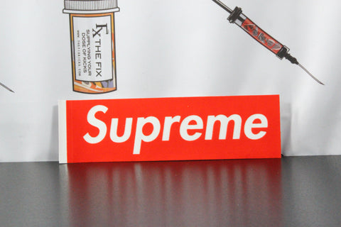 SUPREME Red Velvet Box Logo Sticker