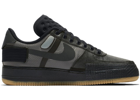 Nike Air Force 1 Type Black Gum