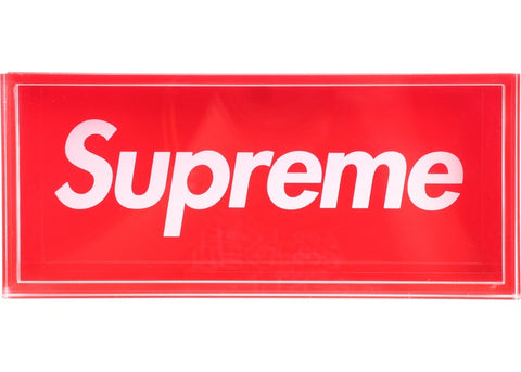 Supreme Acrylic Lucite Box Red