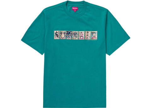 Supreme Ancient S/S Top Teal