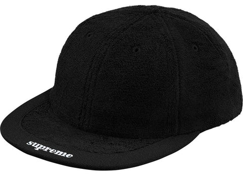 "Supreme Terry Cap Hat ""Black"""