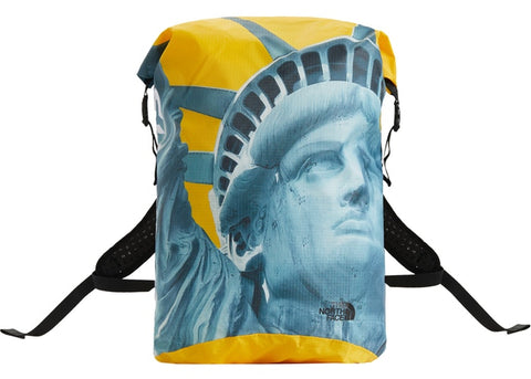"Supreme The North Face Statue of Liberty Waterproof Backpack ""Yellow"""