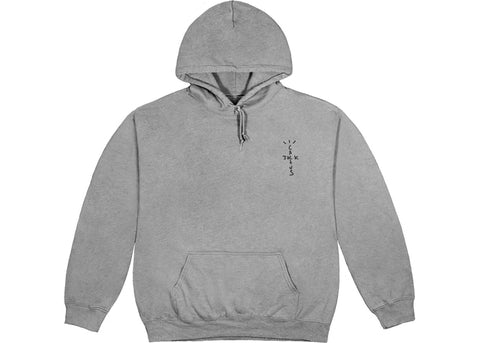 Travis Scott CJ Astro Hoodie Washed Grey