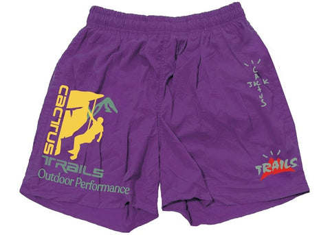 "Travis Scott ""Climb Shorts"" Purple"