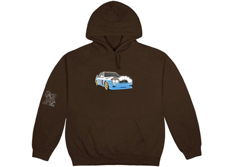 Travis Scott JACKBOYS Vehicle Hoodie Brown