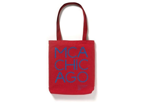Virgil Abloh x MCA Figures of Speech Tote Red