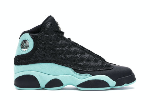 Air Jordan 13 Retro Black Island Green (GS)