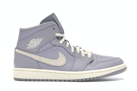 Air Jordan 1 Mid Atmosphere Grey Pale Ivory (W)