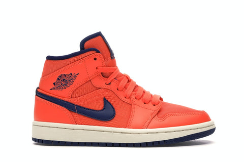 Air Jordan 1 Mid Turf Orange Blue Void (Women)
