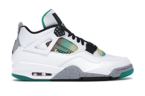 Air Jordan 4 Retro Lucid Green Rasta Women