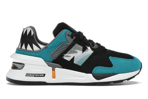 New Balance 997S Shoe Palace Great White (Teal Toe)