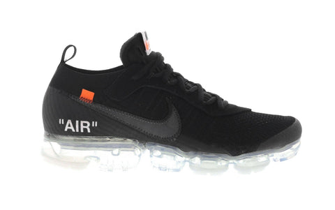 "Nike OFF-WHITE x Vapormax ""Black"" 2018"