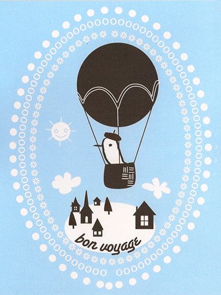 'Bon Voyage' Greeting Card