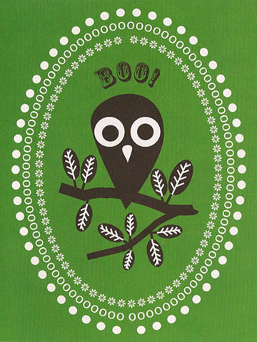 'Boo' Greeting Card