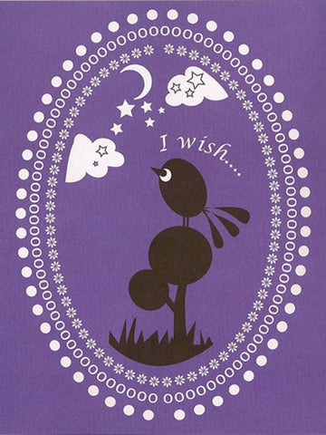 'I Wish' Greeting Card