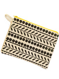 Black Pattern Purse