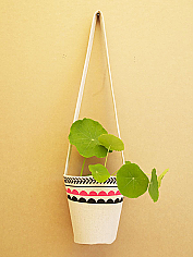 Two Tone Plant Hanger