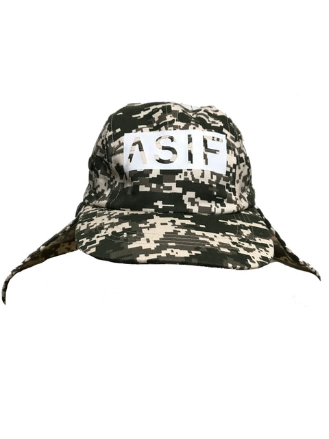 ASIF 5 Panel Flap Hat - DigiCamo - ASIF (as seen in the future)