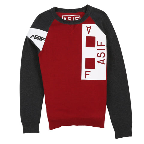 ASIF 2tone Sweater - ASIF (as seen in the future)