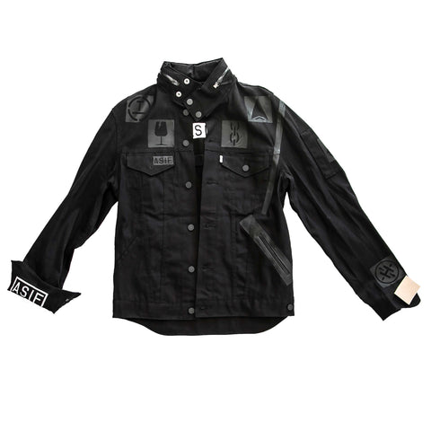 ASIF Surplus Denim Jacket-Black