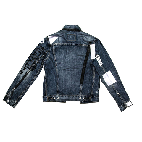 ASIF Denim Jacket-Vintaged - ASIF (as seen in the future)