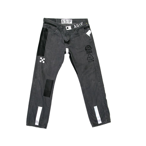 ASIF Denim Jean-Grey
