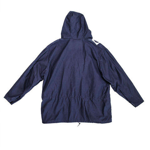 ASIF Hooded Anorack-Navy - ASIF (as seen in the future)