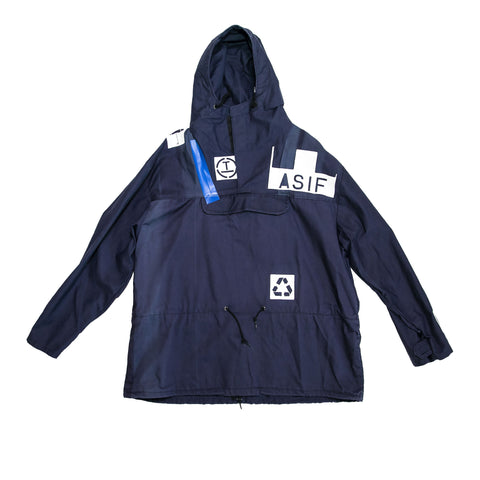 ASIF Hooded Anorack-Navy