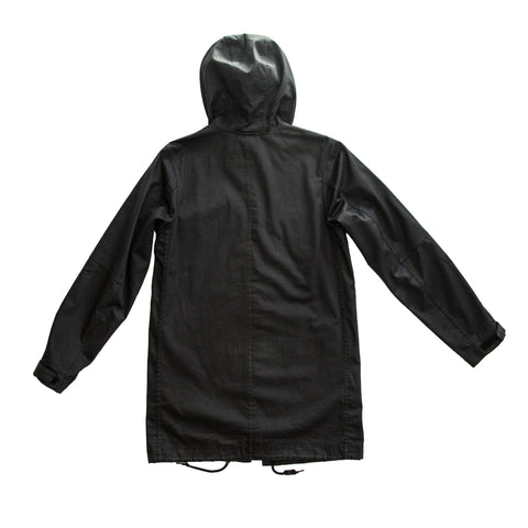 ASIF Hooded Parka-Black