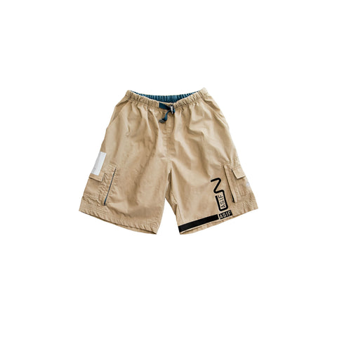 ASIF Nylon Acg Cargo Short-Tan