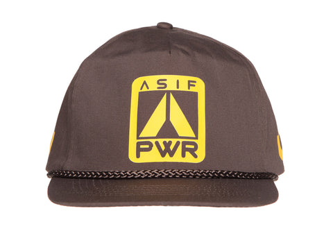 ASIF COTTON TWILL POWER TRUCKER CAP - ASIF (as seen in the future)