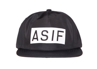 ASIF NYLON STOCK IDENTITY CAP - ASIF (as seen in the future)