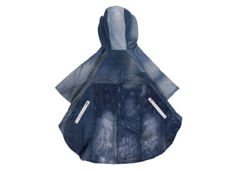 DENIM PONCHO - ASIF (as seen in the future)