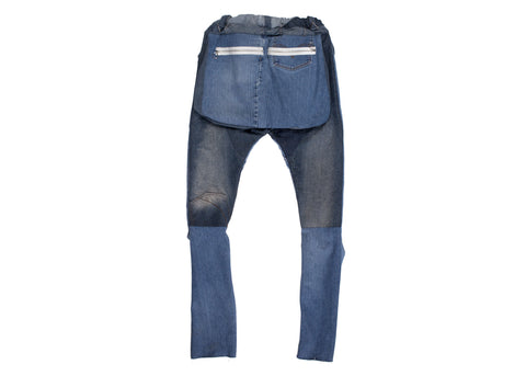 DENIM UTILITY PANT - ASIF (as seen in the future)